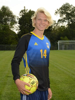 Kettle Moraine junior Blake Wilcox is a standout for the state-ranked soccer team and has also delivered some impressive kicks for the football squad.