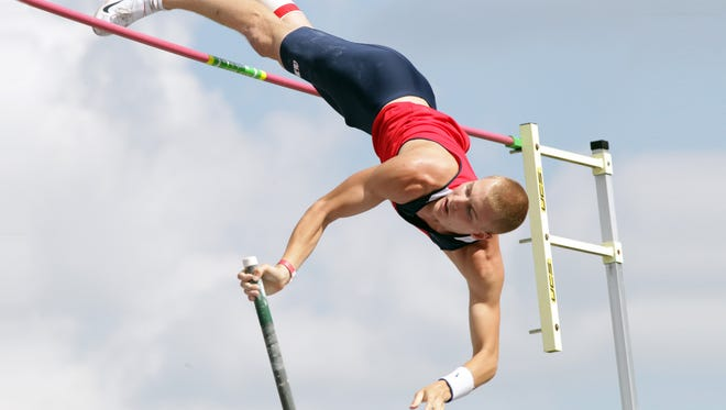 Ole Miss pole vaulter Sam Kendricks, an Oxford native, is leaving the school to go pro.