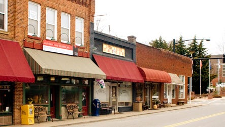 Mars Hill storefronts may see changes through a Facade Improvement Program backed by the Department of Commerce.