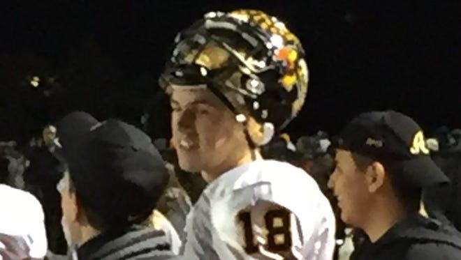Avon (Ind.) quarterback and Michigan commit Brandon Peters