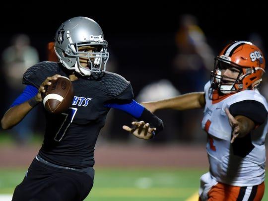 Nolensville quarterback Brandon Wharton.