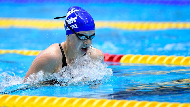 Fossil Ridge's Zoe Bartel, shown in a file photo, won a World Junior Swimming Championship in the 200-meter breaststroke on Monday.