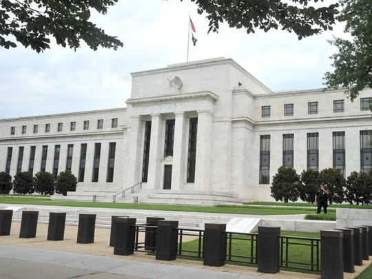 This August 9, 2011 file photo shows the U.S. Federal Reserve building in Washington, D.C. Economic data appears to point to a slowing economy, but the Fed is hinting at rate hikes regardless. Barone looks at the numbers and potential investment opportunities.