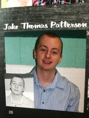 Jake Thomas Patterson, the suspect in the kidnapping of Jayme Closs and murder of her parents, as seen in his high school yearbook.