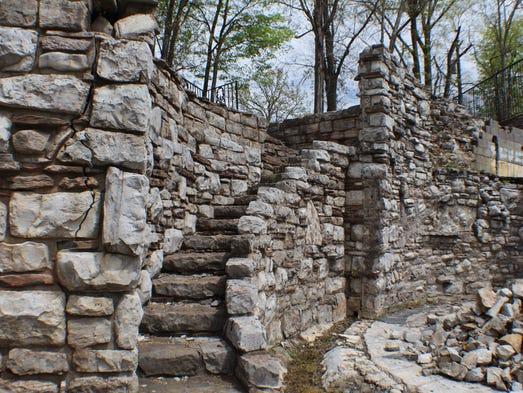 The original foundation of the Cash's 14,000 square