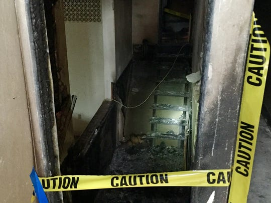 A fire on Dec. 2 started in the baptismal pool heater inside Morningside Baptist Church, causing extensive damage.