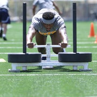 UTEP strength and conditioning practice