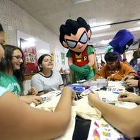 Teen Titans Go! Characters Meet Kids at Latinitas Summer Camp
