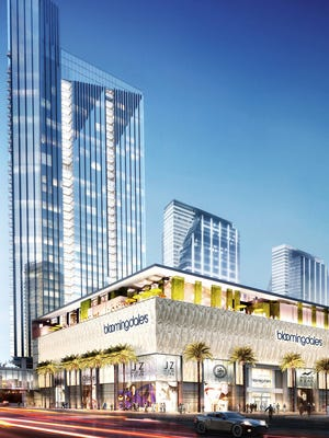 A rendering of the planned Bloomingdale's in Abu Dahbi that will open in 2018. Macy's announced it will use the same partner to open a Bloomingdale's in Kuwait.