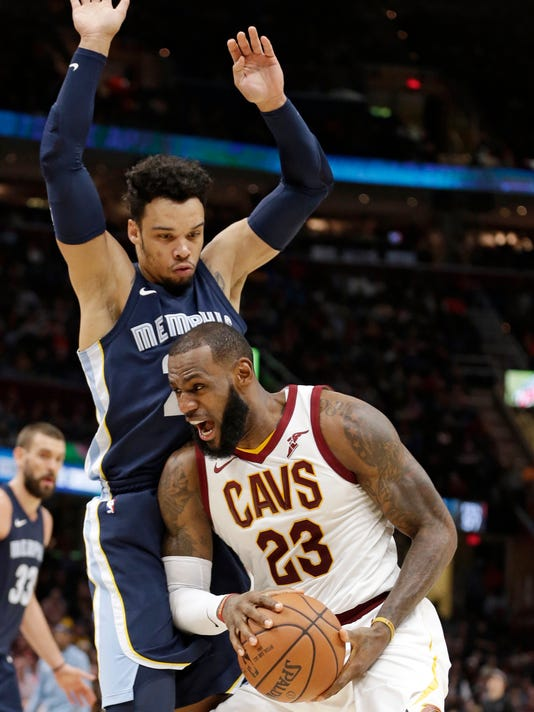 Dillon Brooks, LeBron James