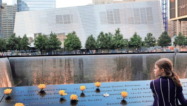 Charlotte Newman visits the National September 11 Memorial and Museum in New York.