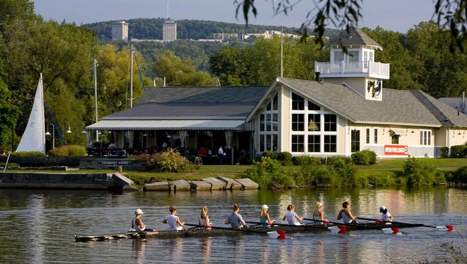 The BoatYard Grill in Ithaca provides diners with fine views and excellent food.
