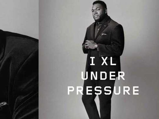 David Ortix is a seen in a DXL ad.