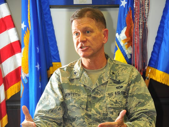 General Wayne Monteith, 45th Space Wing Commander,