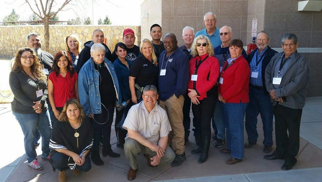 Graduates of the 2016 Citizen's Academy, hosted by the Doña Ana County Sheriff's Office.