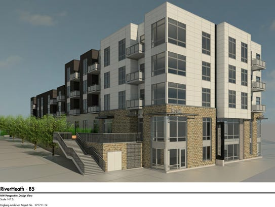 Residents will start moving into RiverHeath's newest