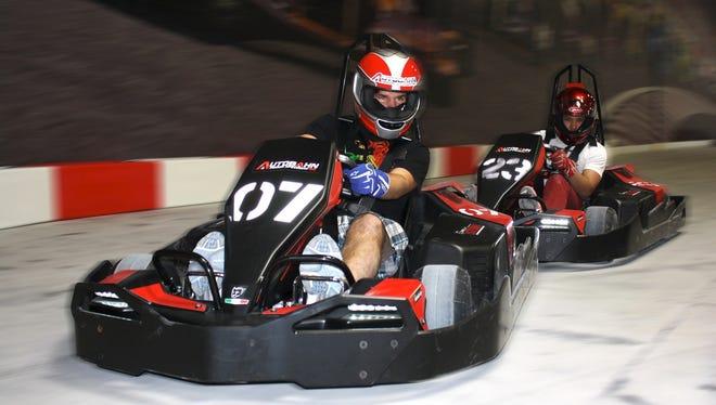 Autobahn Indoor Speedway in West Nyack is New York's largest completely indoor go-kart facility.