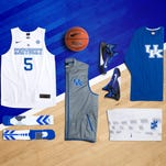 "UK wore Nike ""Hyper Elite"" basketball jerseys this season."