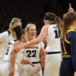 Iowa women takeaways: Productive weekend, Kathleen Doyle's injury, Megan Gustafson dominance