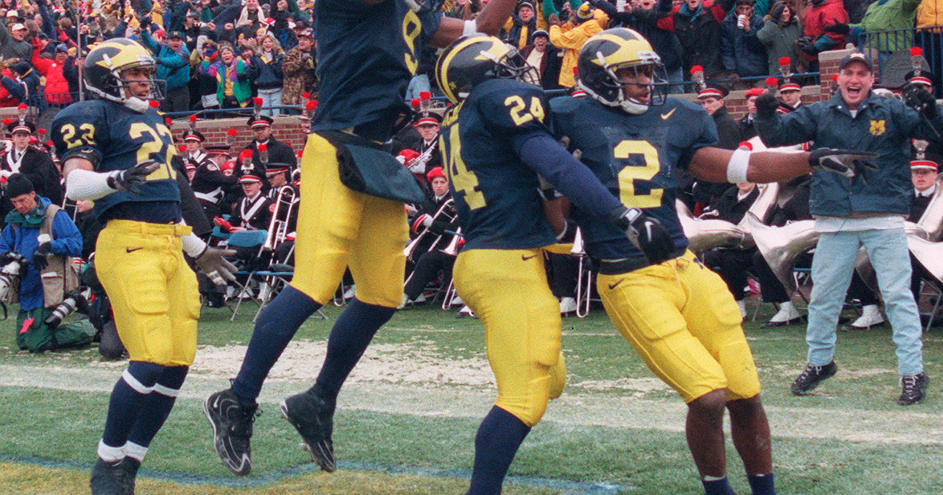 outlet store 8d52b 80ffc Michigan's Charles Woodson makes College Football Hall of Fame