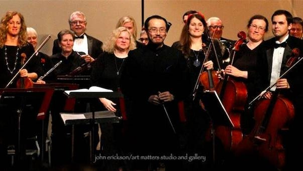 Heartland Symphony Orchestra will perform in Little Falls and Brainerd.