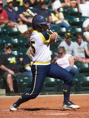 Michigan's Alex Sobczak has two home runs and nine RBI in eight games this season.