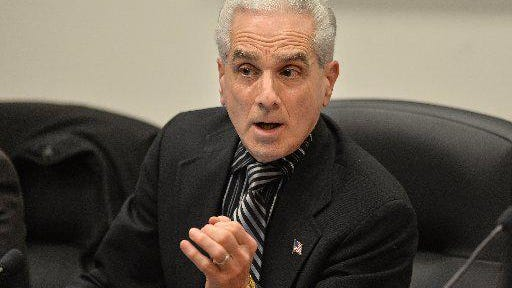 Former Millcreek Township School Director Lou Aliota, shown here when he was in office in 2018, lost reelection in 2019 and as a result has lost a lawsuit against his fellow school directors.