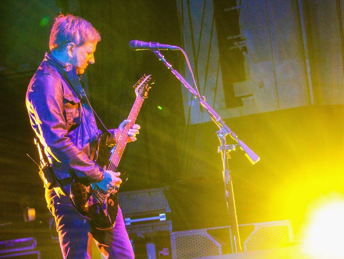 Jerry Cantrell of Alice in Chains performs during the