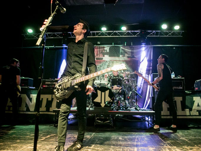 Anti-Flag at Club Red, 2/1/18. Photo by Melissa Fossum