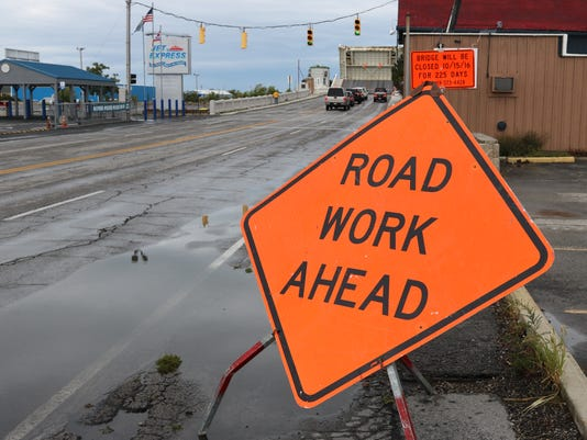 ODOT work ahead