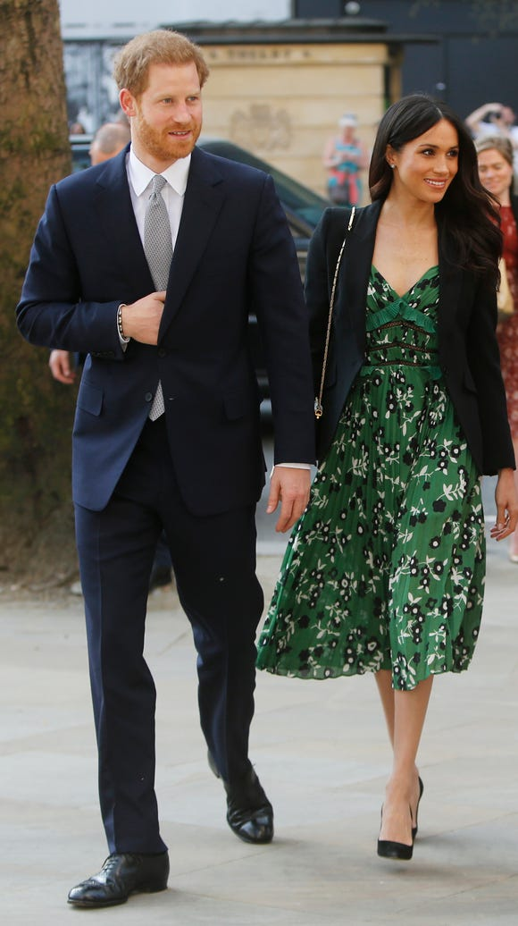 The happy couple looking amazing, as always.