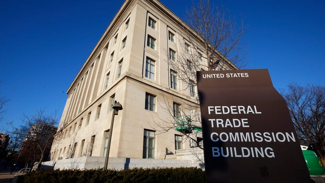Federal Trade Commission (FTC) building in Washington.