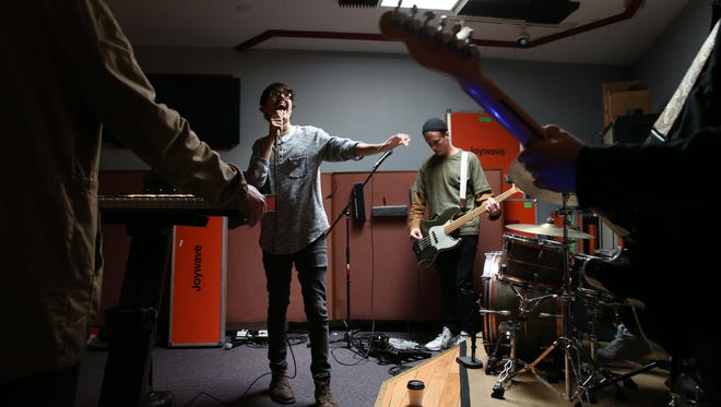 Joywave  Daniel Armbruster (vocals), Joseph Morinelli (guitar), Sean Donnelly (bass), Benjamin Bailey (keyboards), and Paul Brenner (drums).