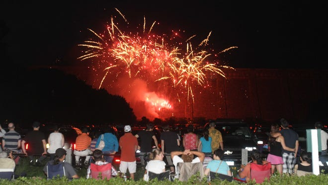 Enjoy the sites and sounds during the annual fireworks show at the Kensico Dam in Valhalla.