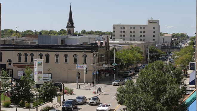 Downtown Appleton is evolving with a changing mix of businesses and office space.