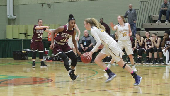 Ossining defeated West Genesee in the Class AA girls
