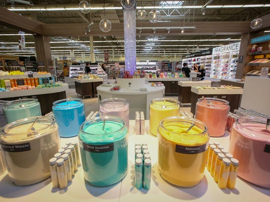 Basin bath salts inside the Urbandale Hy-Vee store,