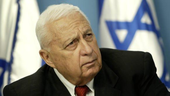 AP APTOPIX Mideast Israel Obit Ariel Sharon_001