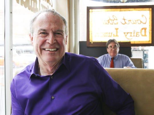 Salem Sunrise Rotary member Mike Gotterba wants folks
