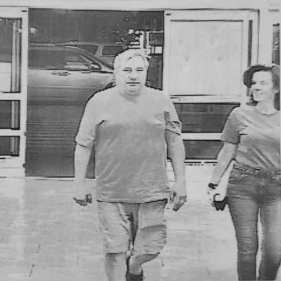 """Laura Rideout, 45, and her boyfriend, Paul """"P.J."""" Tucci"""