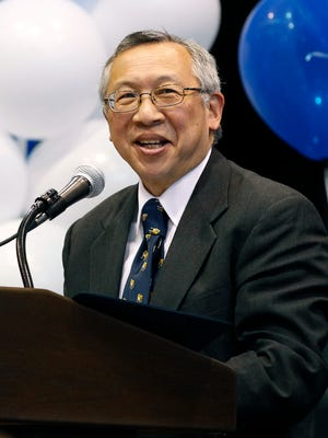 Former Butler President Bobby Fong died on Monday.