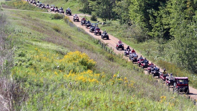 Nearly 200 ATVs and UTVs took part in the 2013 parade from Townsend Shell to the corn roast. All riders are invited to help set a new mark for participants this year.