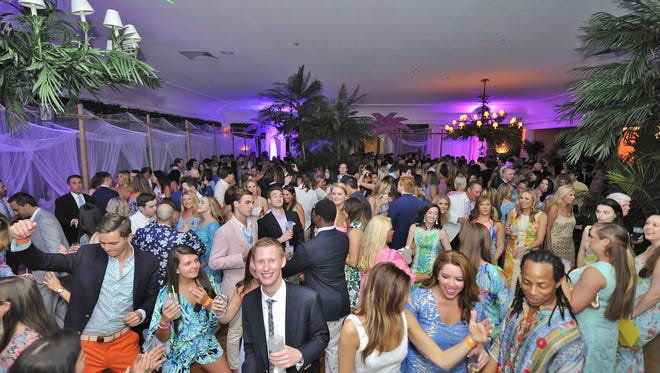 """More than 600 notables  enjoy """"Seas the Day"""" event at Lilly Pulitzer's Beach Bash Palm Beach, benefiting the Sea Turtle Hospital at Loggerhead Marinelife Center in Juno Beach."""