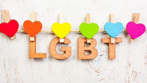 The process of being true to yourself and dealing with other people's perceptions of you can be hard for anyone — and it can be especially stressful for people who are lesbian, gay, bisexual or transgender (LGBT).
