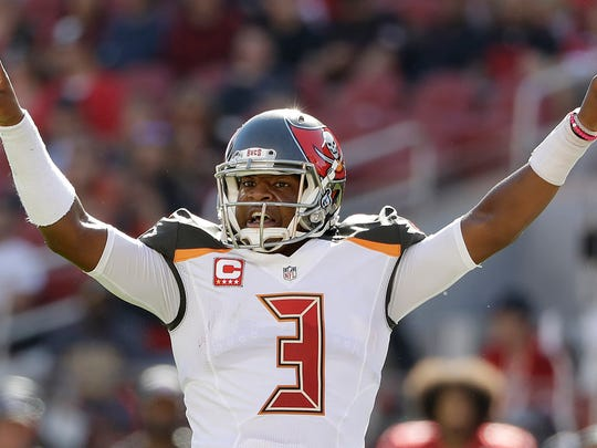 Tampa Bay Buccaneers quarterback Jameis Winston (3) was the top overall pick in the 2014 NFL draft.