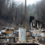 'Burn scar' latest worry in Sevier County
