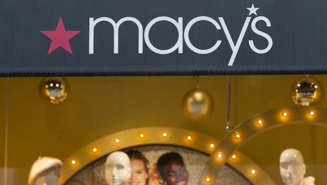 Macy's reported second-quarter earnings Thursday.