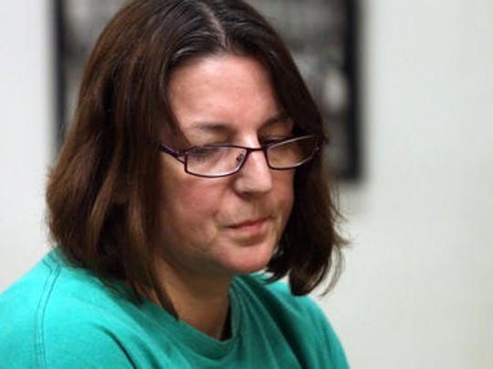 Michelle Lodzinski, mother of Timothy Wiltsey.