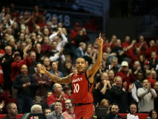 UC senior Troy Caupain won the American Athletic Conference