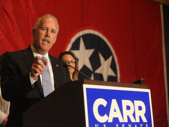 Joe Carr, a former Republican state representative, has taken a job with the state Department of Environment and Conservation.